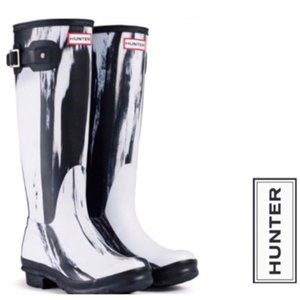 HUNTER NIGHTFALL RAIN BOOTS NWT